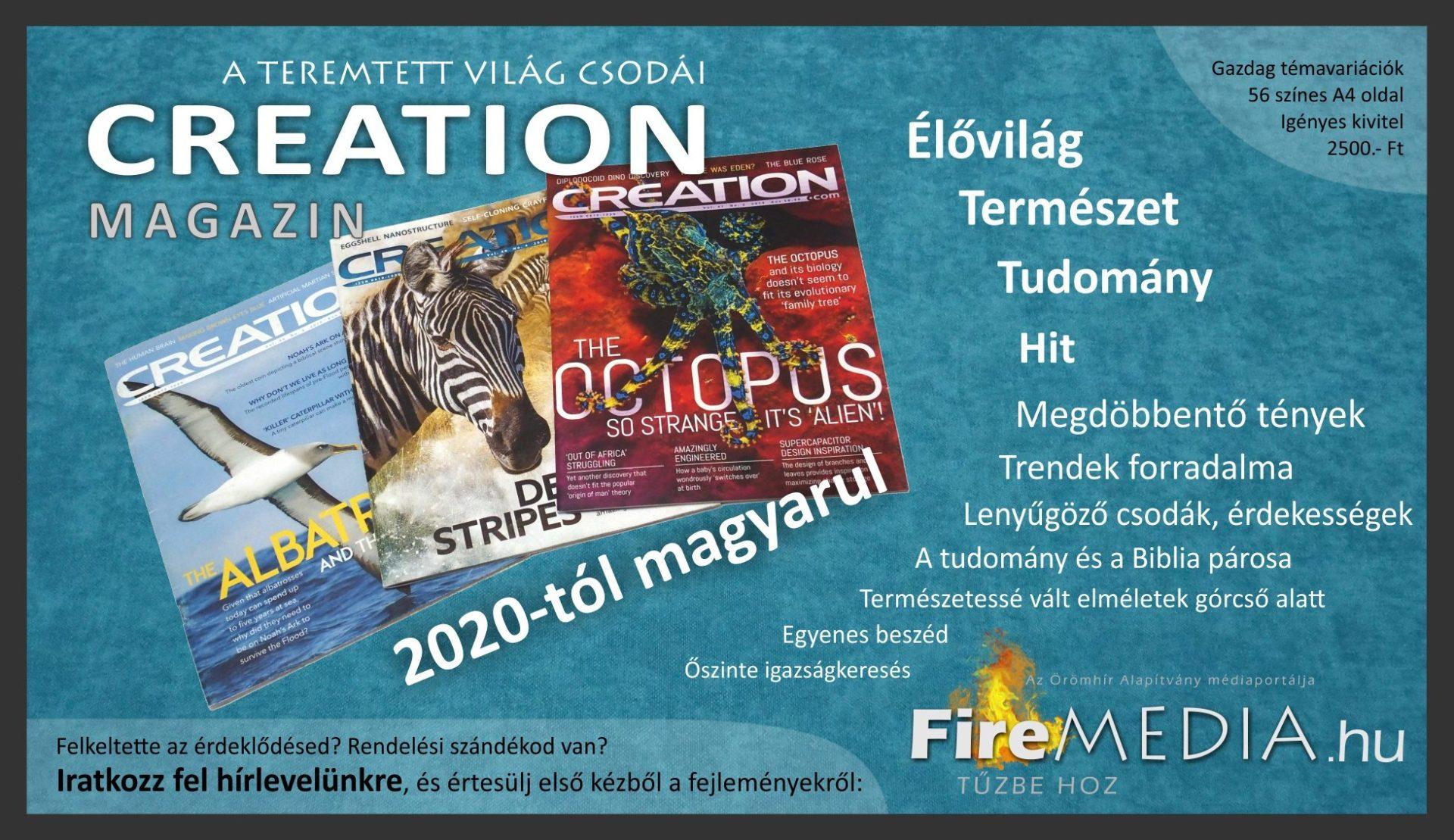 Creation Magazin MAGYARUL