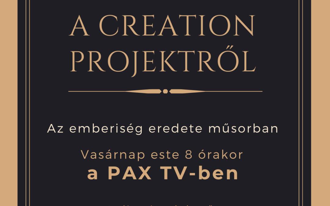 Hamarosan a PAX TV-ben!