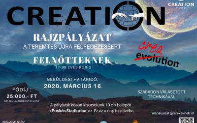 Creation rajzpályázati kiírás
