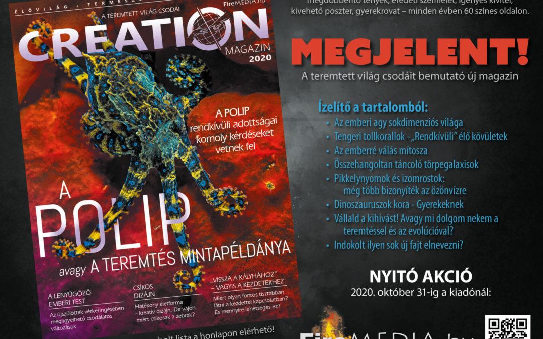 Creation Magazin Megjelent – plakát