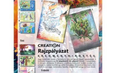 Creation Rajzpályázat eredménye