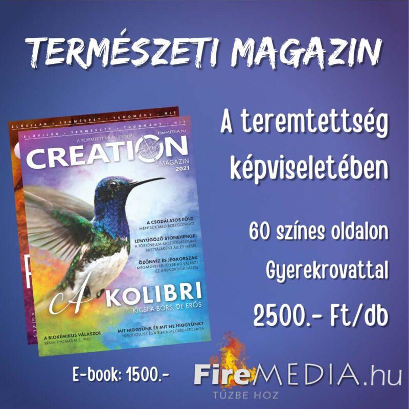 Ízelítő – Creation Magazin 2021